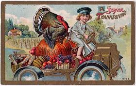 the ghosts of thanksgiving past food
