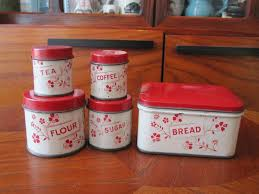 vintage style kitchen canisters 179 best vintage kitchen canisters images on kitchen