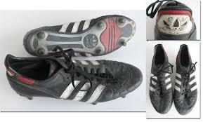 cup 1986 match worn player boots germany original match