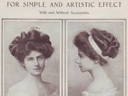 hairstyles in the the 1900s vintage hairstyles 20th century edwardian 1900s edwardian