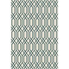 Lowes Indoor Outdoor Rugs by Shop Oriental Weavers Of America Fairfield Ivory Rectangular