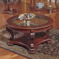 Cherry Wood Coffee Table Coffee Table Round Coffee End Table Cherry Modern Design Cherry