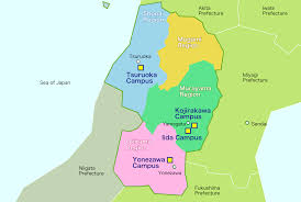 Sea Of Japan Map About Yamagata Yamagata University