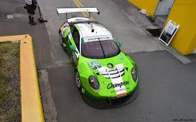 porsche 911 viper green 2016 porsche 911 gt3 r road car daytona racer christophorus