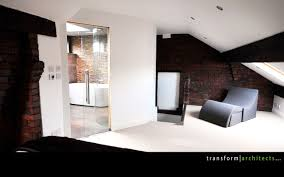 contemporary ensuite wetroom bath and sink u2013 transform architects