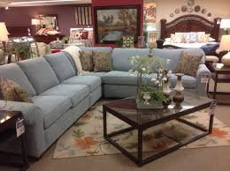 Flexsteel Curved Sofa by Flexsteel S5535 Sectional On Showroom Floor At Discovery