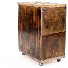 Rustic File Cabinet Rustic Multicolor Cabana File Cabinet Rustic Filing Cabinets
