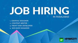jobs in faisalabad apply online hfarazm software