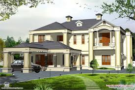 Luxury Home Design Kerala Recently Colonial Style 5 Bedroom Victorian Style House Kerala