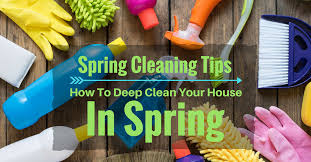 how to spring clean your house spring cleaning tips how to deep clean your house in spring