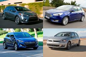 7 small hatchbacks how they u0027d fare against the 2015 volkswagen