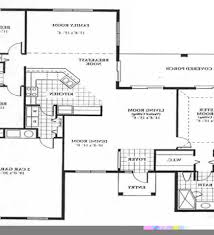 House Floor Plan Measurements Back House Floor Plan House Plans And Measurements Simple Floor
