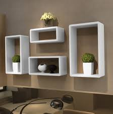 White Modern Bookshelves by Wall Shelves Design Modern Shelves For Cubicle Walls Wall Mounted