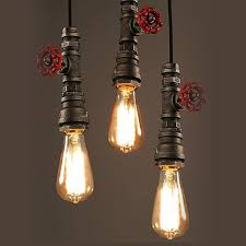 rustic industrial pendant lighting rustic industrial pendant light vintage l suspension luminaire