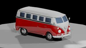 volkswagen minibus camper volkswagen camper van 3d model by plumbledoor on deviantart