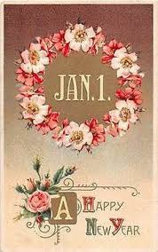 new years post cards a happy new year vintage postcard by heritagepostcards on etsy