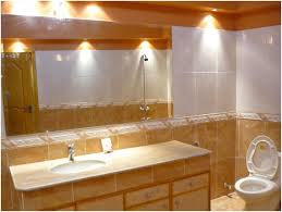 Crystal Bathroom Vanity Light by Interior Bathroom Vanity Lighting Image Of Contemporary Bathroom