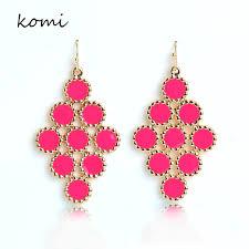 pink drop earrings online get cheap wedding pink drop earrings aliexpress