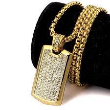 aliexpress buy nyuk gold rings bling gem nyuk men s jewelry smooth army card pendant with rhinestone high