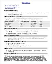 Achievements In Resume Examples For Freshers by 40 Fresher Resume Examples