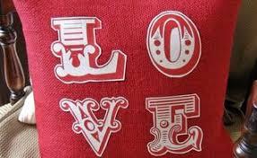 Valentine S Day Decor Pottery Barn by Valentine U0027s Day Pillows Love Note Pillows Hometalk