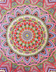 Light Colored Tapestry Amazon Com Mandala Wonders Color Art For Everyone Leisure