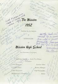 mission high school yearbook explore 1952 mission high school yearbook san francisco ca