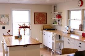 home office craft room designdeas homesfeed scrapbook deskkea