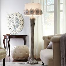 hayworth rosette smoke floor lamp pier 1 imports