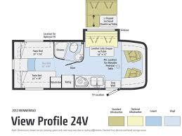 Rv Floor Plans Class C by Road Test 2013 Winnebago View 24v Photo U0026 Image Gallery