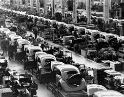 first volkswagen beetle 1938 built by volkswagen put on the map by the town of