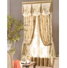 blackout curtains rustic champagne floral jacquard no valance