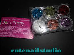 Cute Nails Bornpretty Store Review 12 Colors Nail Art Shiny