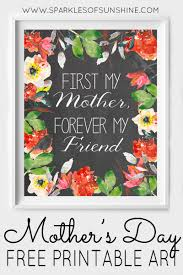 mother u0027s day free printable art sparkles of sunshine