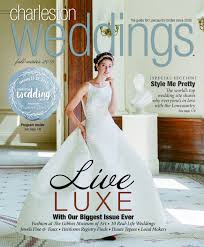 magazine wedding programs fall winter 2016 charleston weddings magazine