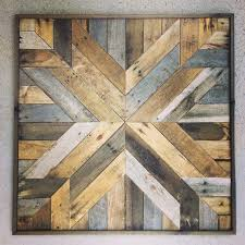 wall decor ideas magnificient wood wall square shaped