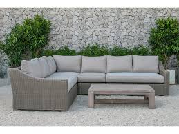 Outdoor Sofa Sectional Set Amazing Outdoor Wicker Sofa Set Venice 4 Piece Outdoor Wicker Sofa