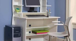 White Computer Desk Desk Multifunctional Desks For Small Spaces Beautiful Computer