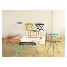 Yellow Side Table Uk Kilo Solid Oak And White Metal Side Table Buy Now At Habitat Uk