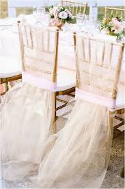 Chair Decorations Blush And Gold Wedding Shoot Inspired By Caen