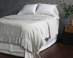 Organic Queen Duvet Cover 100 Linen Duvet Cover Eco Organic Bedding Twin Full Queen