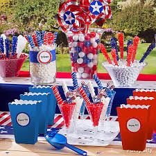 Candy For A Candy Buffet by 4th Of July Candy Buffet Idea Patriotic Sweets And Treats Ideas