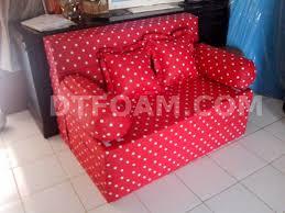 Sofa Bed Murah P U003esofa Bed Inoac U0026 Motif Kasur Inoac Merah Bintik Putih