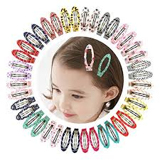 hair accessories for kids ruyaa 2 snap no slip wrapped hair barrettes for