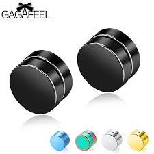 men earrings online shop gagafeel magnetic stud earrings men earring jewelry