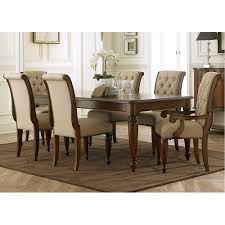cotswold 7 piece dining set table with 4 side chairs and 2 arm