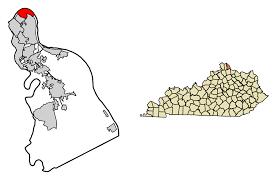 Dayton Ohio Zip Code Map by Dayton Kentucky Wikipedia