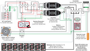 youngren hydro system 1 off grid schematic home power magazine