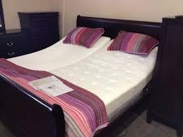 king size adjustable bed frame youtube