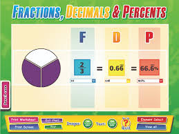 converting fractions decimals and percents lessons tes teach